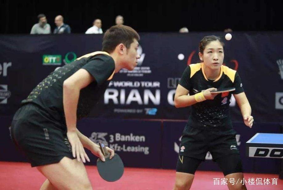 国乒王牌组合训练成绩依旧不稳定,马琳陈玘督训,表情不轻松