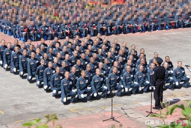 """广元监狱:举行""""拥抱新时代唱响主旋律""""服刑人员队列、歌咏比赛"""
