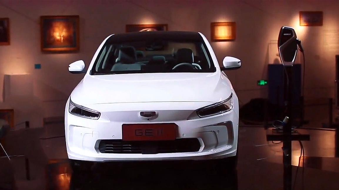 吉利全新电动轿车,采用新车标,可见之处诚意满满