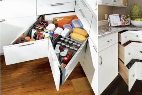 小厨房千万别乱装,用这10种收纳方法,让4㎡厨房变身8㎡效果!