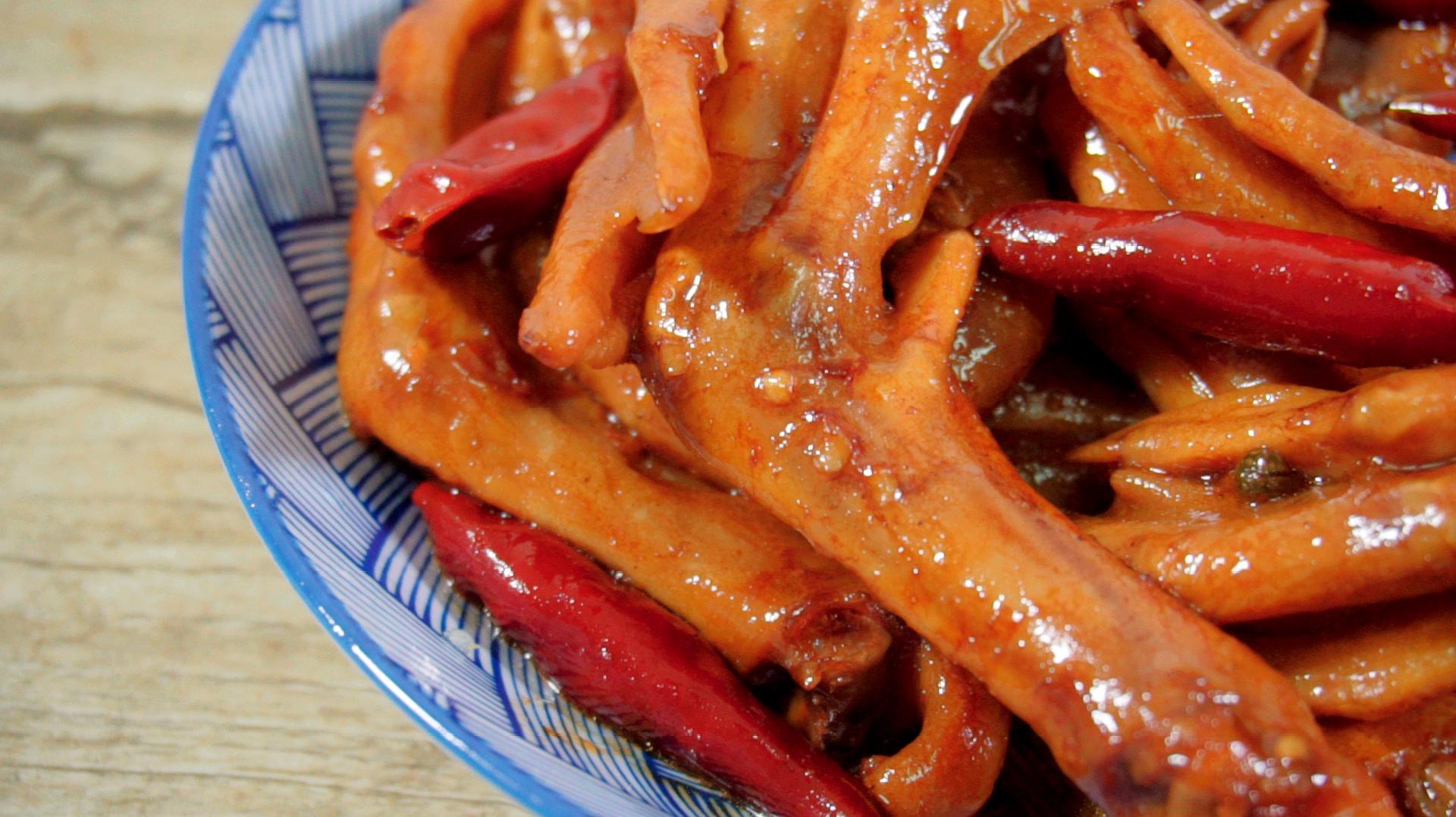 01:05百度做法甜辣海报的土豆01:23鸭掌酱汁鸭掌的做法家常菜经验图片