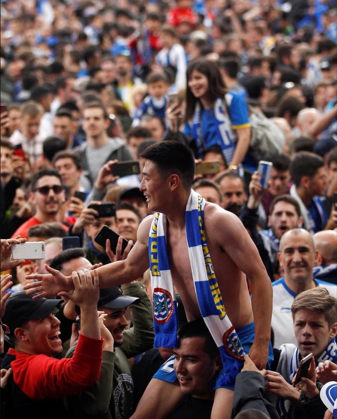 武磊帮助西班牙人闯进欧联杯,另一中国球员追随他的脚步加盟?
