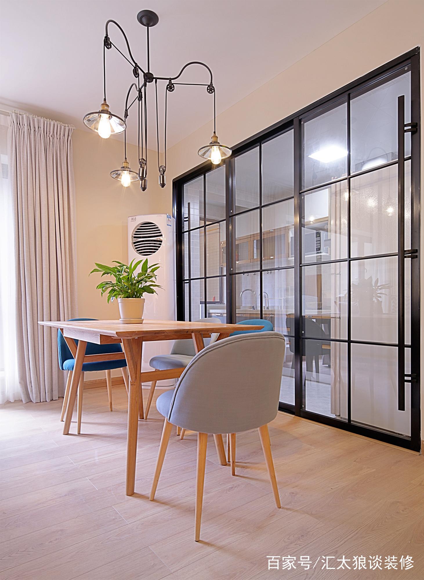 汇太狼装修网:北欧风格单身公寓装修效果图:一个人的精彩!