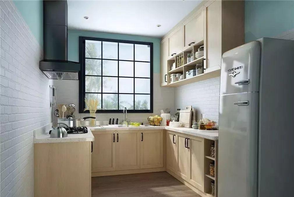 不管是大户型还是小户型,布局好厨房类型都能提升一半收纳
