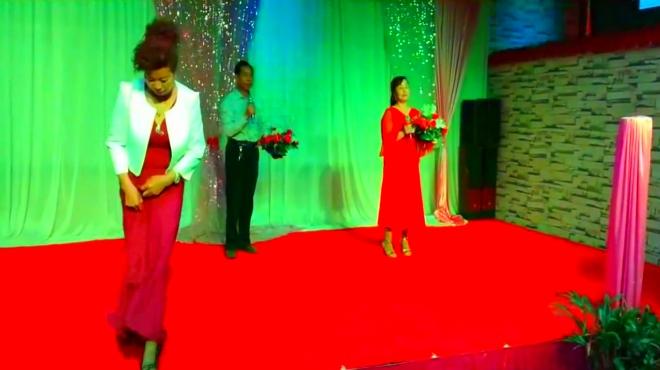 金街交谊舞团队 对唱 红尘情歌