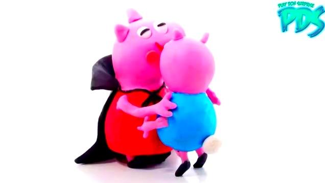 橡皮泥趣动画:小猪佩奇宝宝受凉生病了 看医生