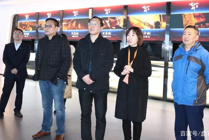 省市场监管局党委委员吴一新总工程师到访调研盘石