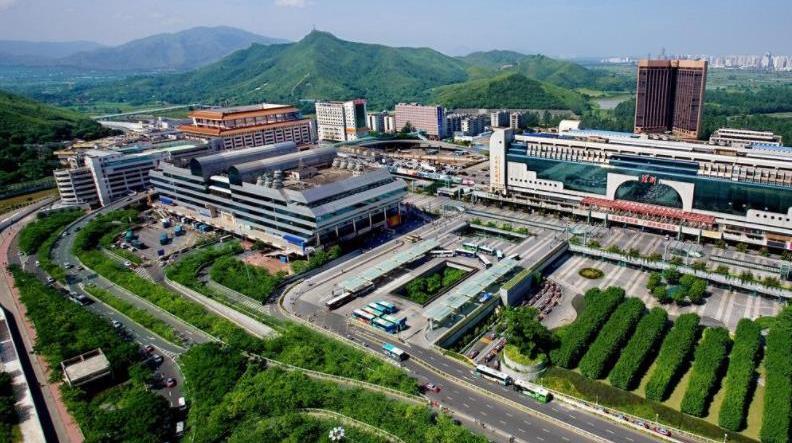 中国第二大旅客出入境陆路口岸,前往香港的主通道,你来过没有