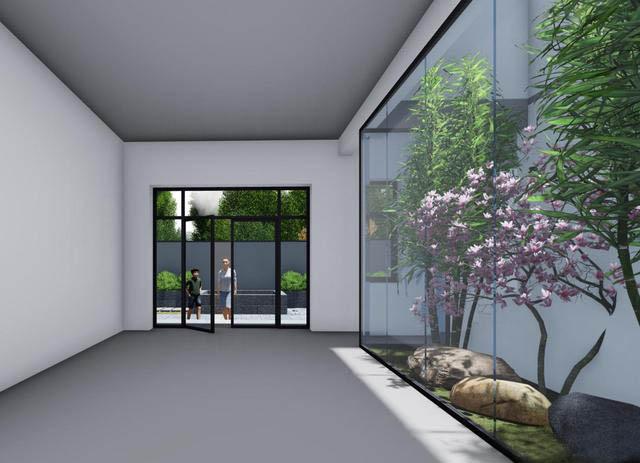9×12.2二层新中式别墅设计图,带楼梯天井+4大露台