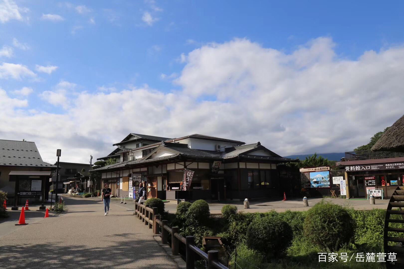 日本忍野村景色之美让人流连忘返,这群长沙人第二天又驱车前往