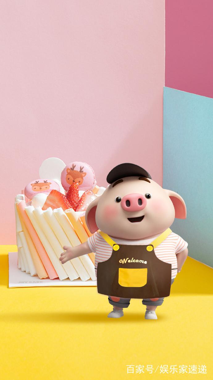 这是我看过最可爱的猪,手机壁纸福利快收下!