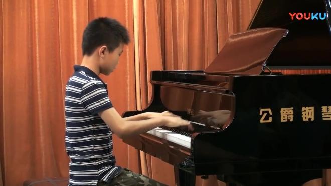 2018年高彦君师生音乐会 张亦驰《燕子》《拿波里舞曲》~