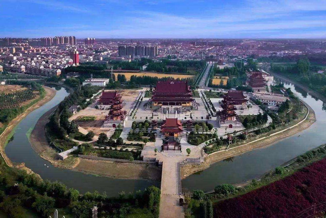 亚洲最气派的寺庙,占地面积500亩,就在中国河南