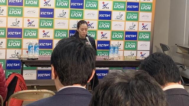 亚洲杯独家 | 石川佳纯:被中国队研究的很透 虽然困难但还要继续