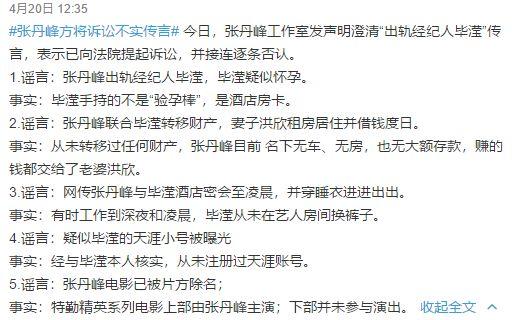张丹峰宣布毕滢辞职了,可是还有用吗?