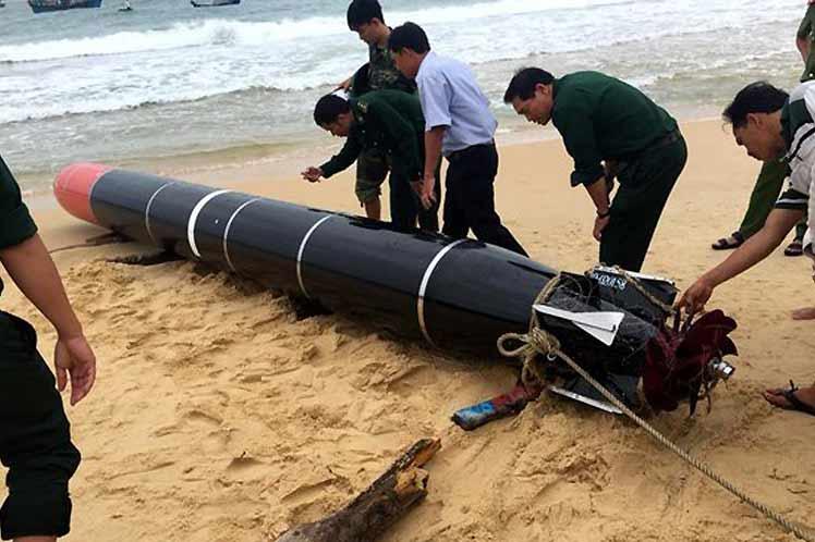国防部:越南将尽快归还中国丢失训练鱼雷