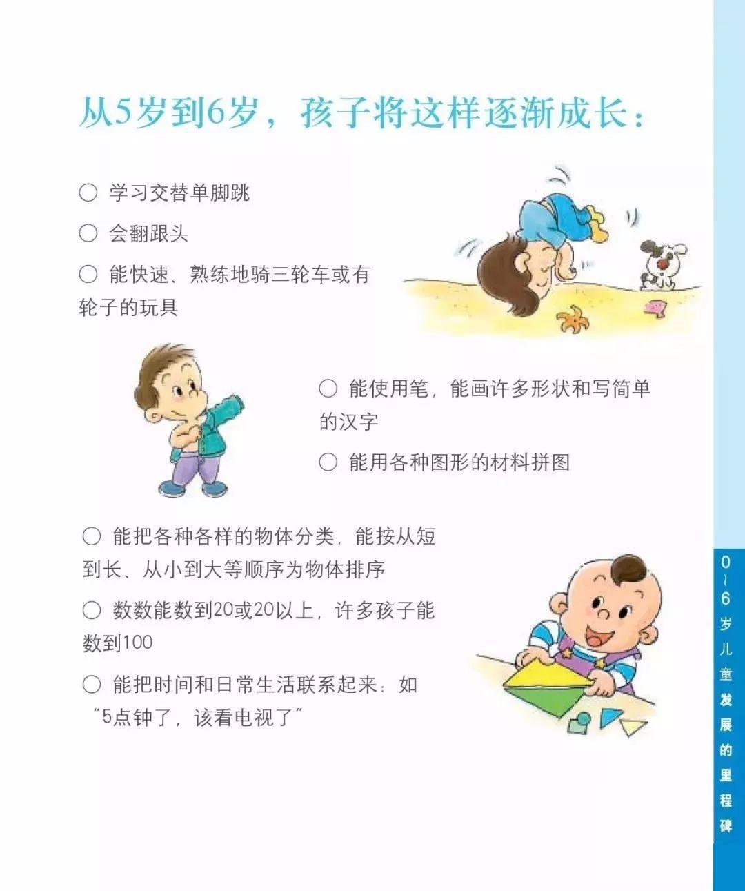 5-6岁宝宝成长过程