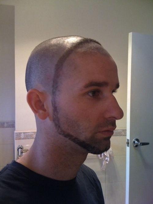 """""""笑到喷饭""""的奇葩发型,一个比一个爆笑,网友:得罪托尼图片"""