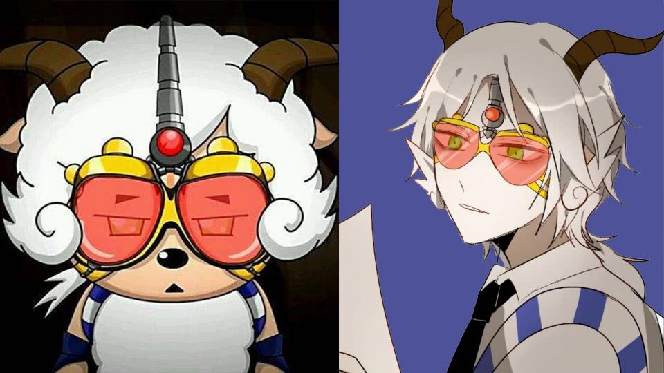 黑大帅是喜羊羊与灰太狼动画中最可爱的反派,后来成功洗白变成好人形