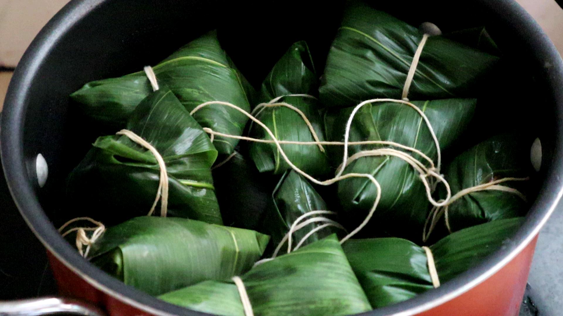 粽子最好吃的做法,配料和包法都手把手教你,看完别说你学不会