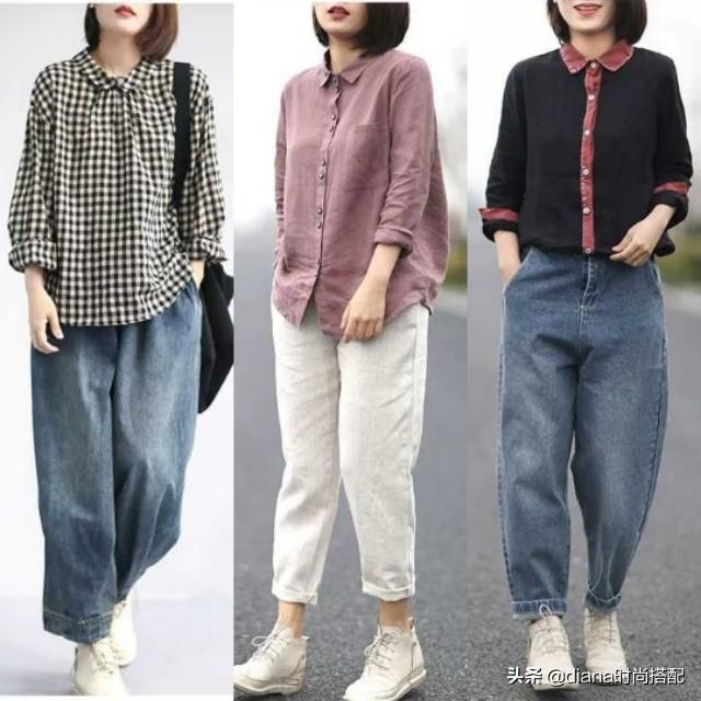 春季怎么穿衣服更好看呢?33套棉麻搭配,舒适又时髦!