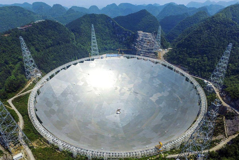 为什么没用中国天眼观测黑洞?