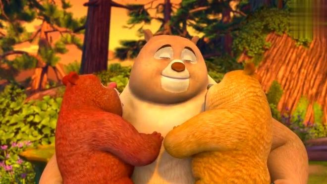 《熊熊乐园》熊大 熊二:妈妈生日快乐