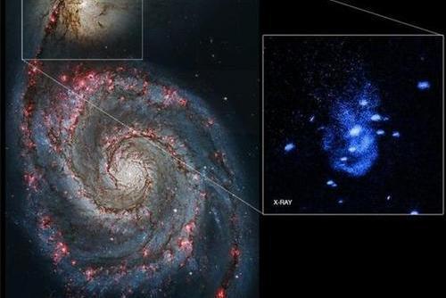 科学家发现星系边缘神秘现象,疑似传说中的白洞在抛射物质