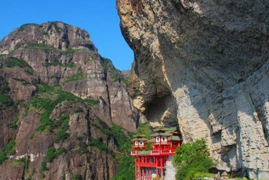 """中国""""最罕见""""的寺庙,称为""""悬空寺"""",是山西大同的那个?"""