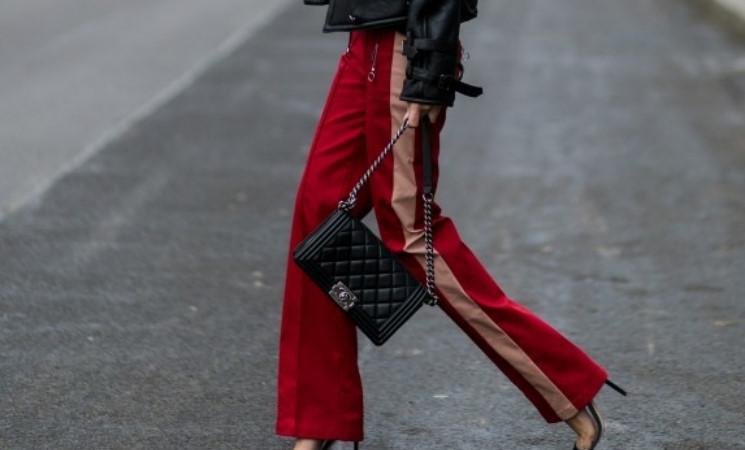 运动裤也能玩出花样搭配,搭配高跟鞋你见过吗!