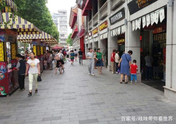 沈阳旅游景点简介:美食街是中街最有名的夜市吉庆的新武汉一城武汉里图片
