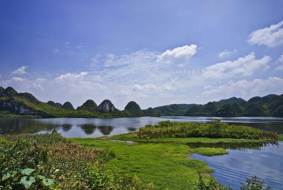 旅行贵阳最惬意的事:荡舟风景如画的百花湖,感受悠悠慢时光