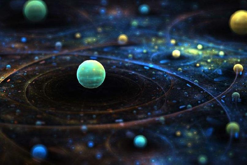 """为什么星球能够稳定的""""漂浮""""在宇宙中?这是一股什么样的力量?"""