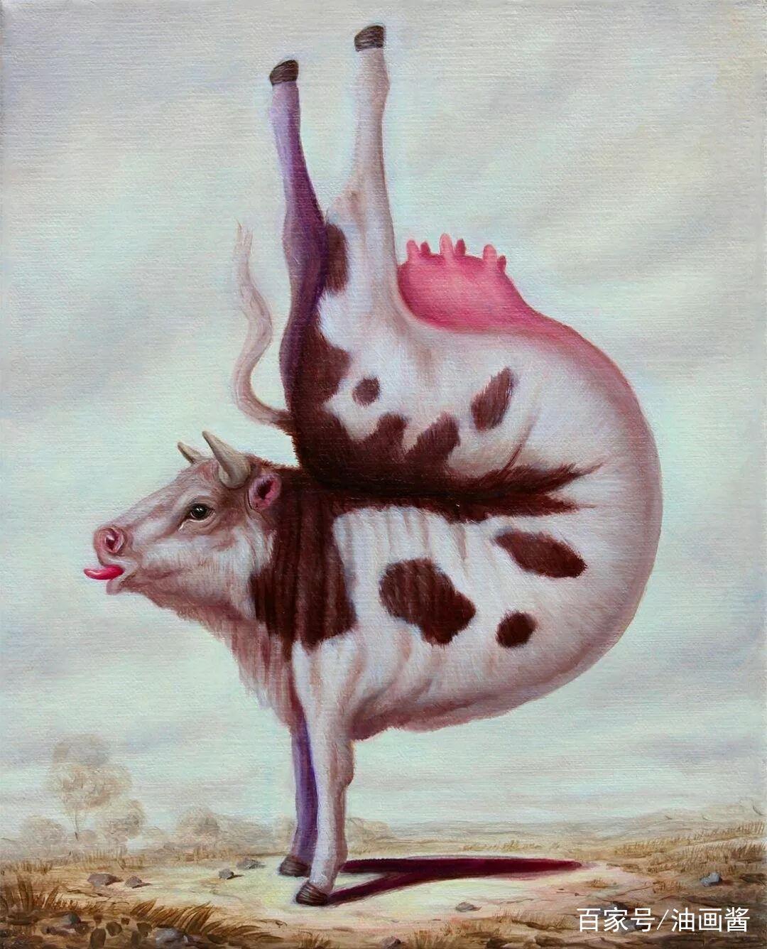 外国画家画出会练瑜伽的动物,背后故事引人深思