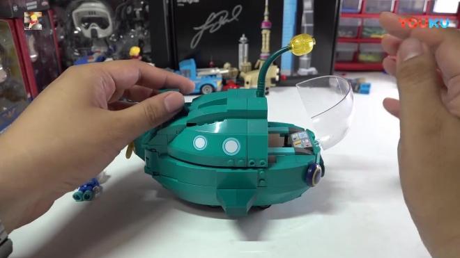 海底小纵队: 启蒙积木海底小纵队系列3703灯笼鱼艇评测