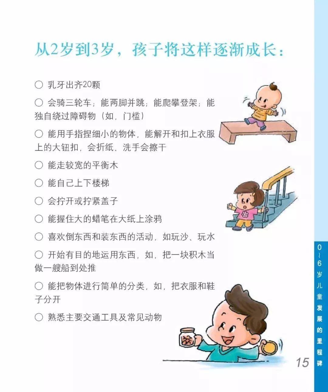2-3岁宝宝成长的问题