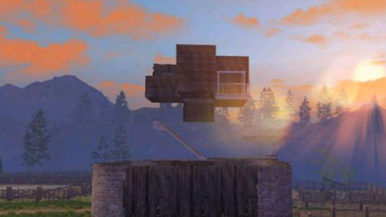 明日之后:古堡别墅和悬空房成最美设计!赏心悦目和安全才最重要