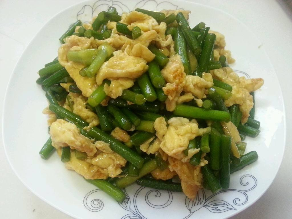 蒜苔怎么做菜好吃,教你一个简单美味的做法