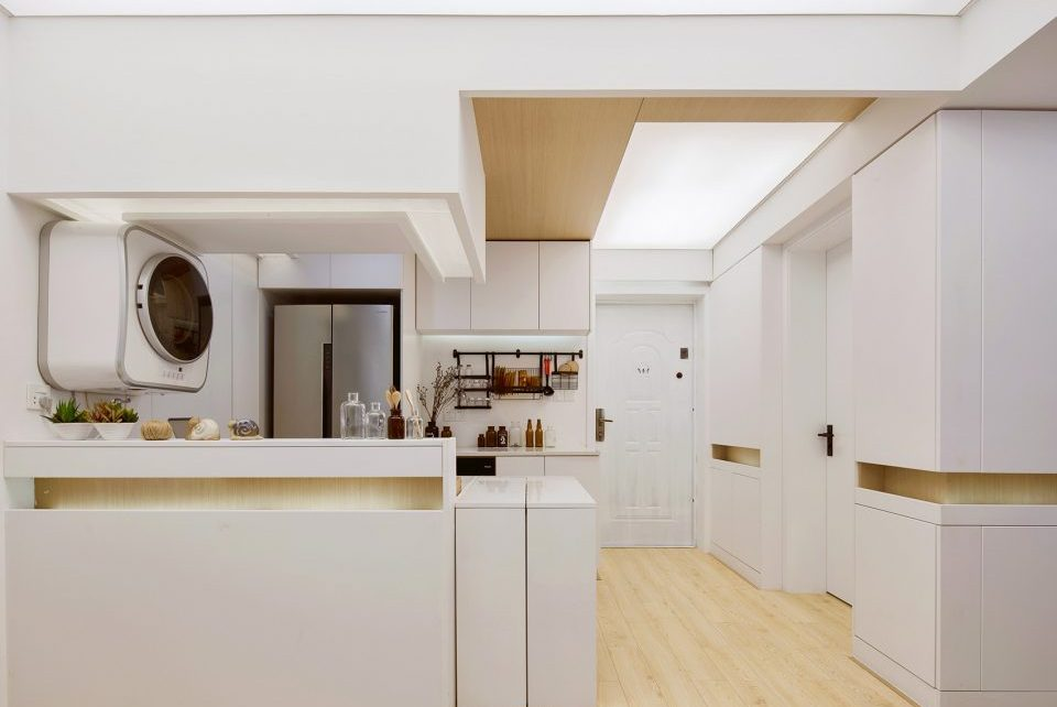 历时30天,设计师爆改68平小户型,完工变3室2厅住一家6口还不挤