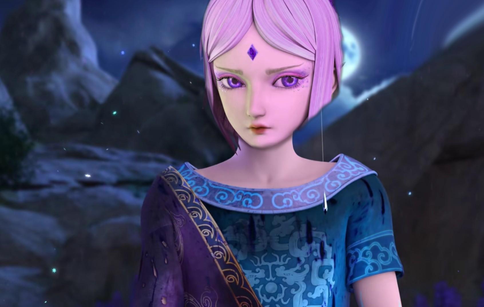 叶罗丽:给仙子换上冰公主的脸,冰公主穿学生装的样子图片
