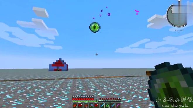大海解说 我的世界钻石大陆57集 奇葩怪物僵尸汉堡