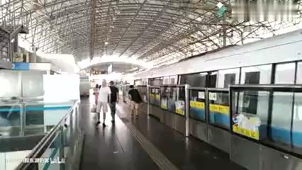 「上海地铁」魔都地铁9号线曹路——松江南站前方第一视角展望(POV)