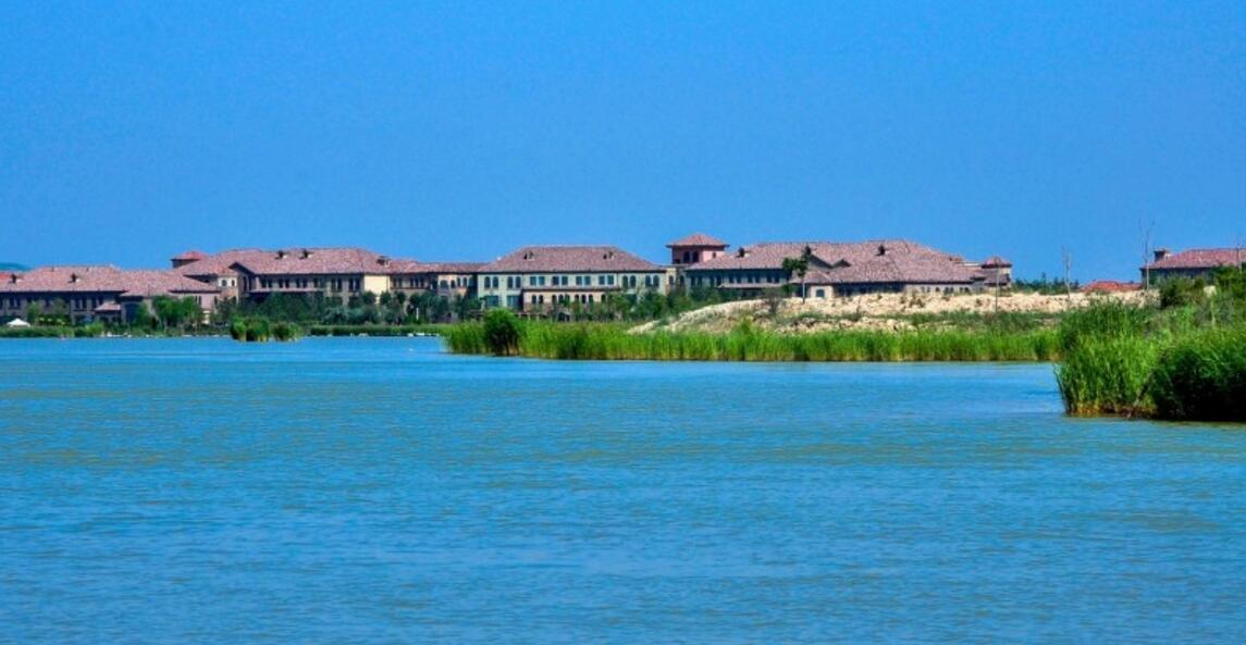摄影图集:宁夏旅游景点——沙湖风景