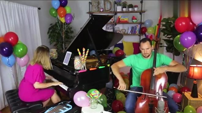 钢琴与大提琴演奏《查理和巧克力工厂》插曲《Pure Imagination》