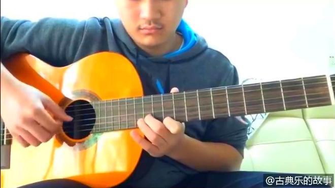 古典吉他独奏『绿袖子』