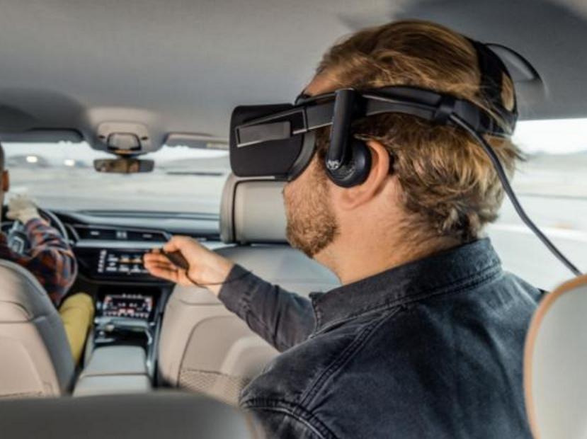想把车变成VR游戏玩具,还在车内玩?别急,奥迪即将实现!
