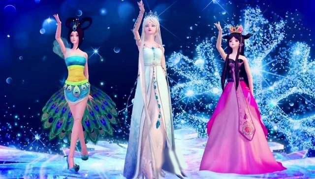 """叶罗丽:具有""""舞王潜质""""的五位女神,冰公主第二,第一非图片"""
