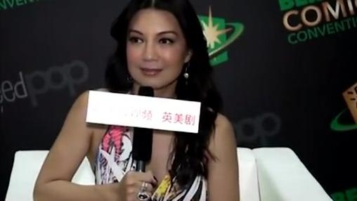 《神盾局特工》好莱坞唯一能当主演的华人女星温明娜风彩仍旧迷人
