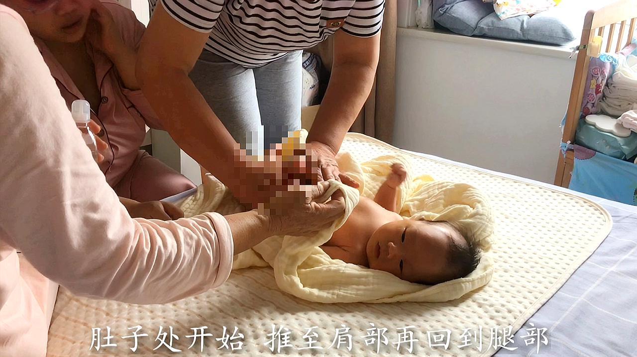 0-1岁婴儿抚触操全程视频图文示范,金牌月嫂手把手教你给宝宝做抚触