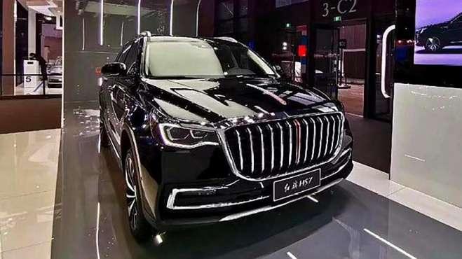 红旗HS7亮相广州车展,定位中大型SUV,预计将于2019年上市销售